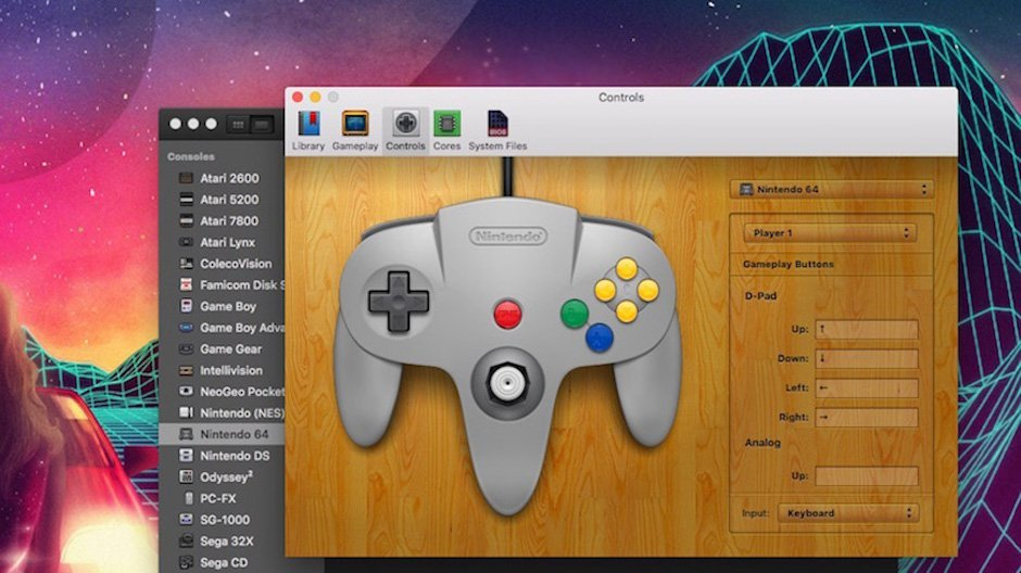OpenEmu All-in-One Emulator PS Playstation N64 Nintendo 64 SEGA Atari Mac OS Windows Download