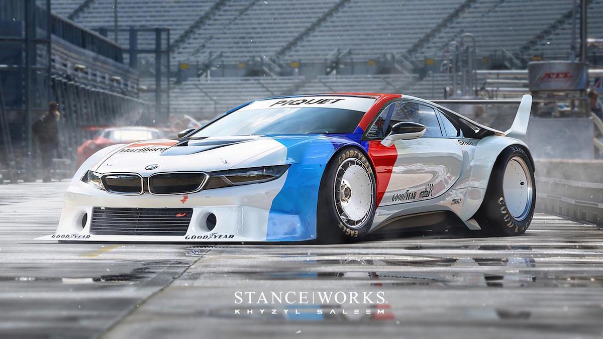 Ein mögliches BMW i8 Procar würde Ästhetik im Rennsport neu definieren