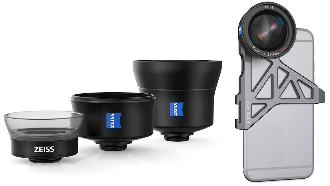 Carl Zeiss iPhone Objektive Apple iPhone 6 Halterung Kamera Halterung