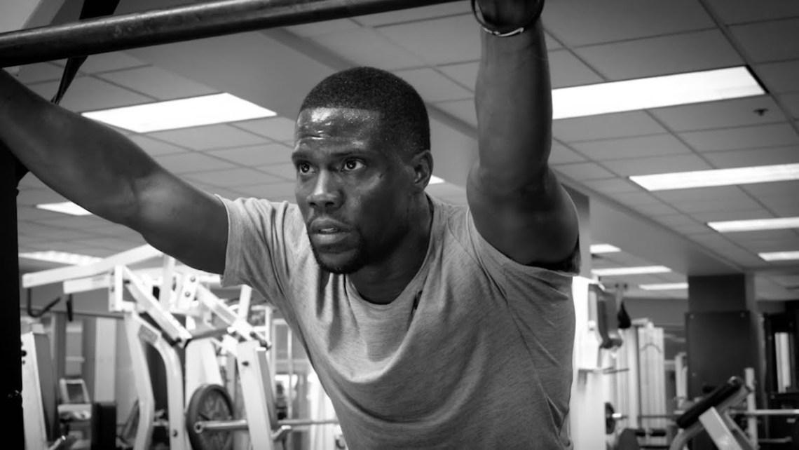 Kevin Hart Workout Nike Training Fitness Fitnessstudio Gym Schweiß schwitzen Sport Fitness