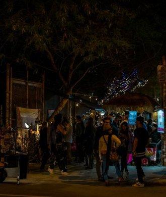 Miami Wynwood Art Walk Nacht Gallerien Gallery Künstler