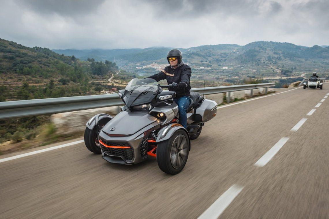 can-am spyder f3t alicante altea landschaft natur ausflug mottorad moped trike cruiser roadster freiheit roadtrip