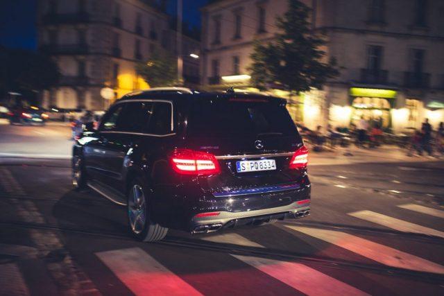 Mercedes AMG GLS63 4MATIC Nightlife Dijon Nacht