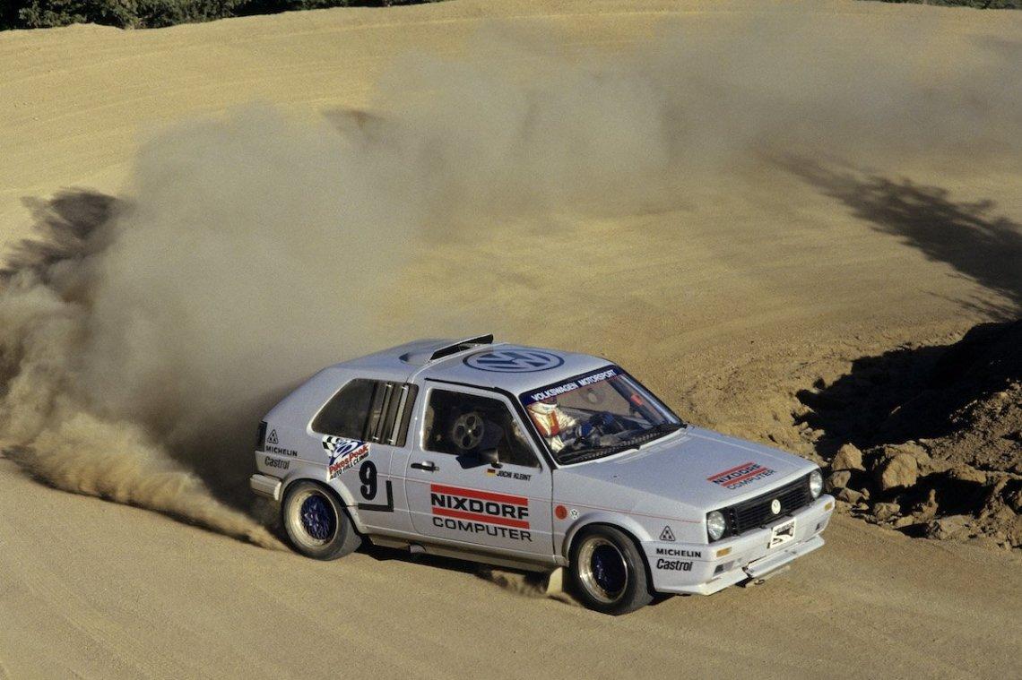 Pikes Peak Hillclimb Volkswagen Golf Bi-Motor Jochi Kleint Timeattack Drift AWD Staub Racing