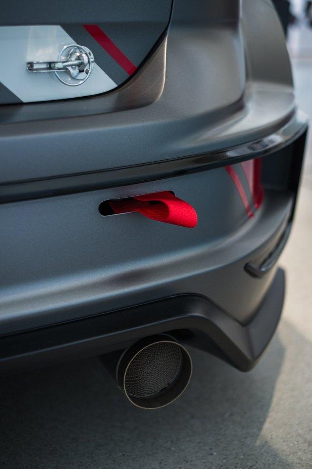 VW Golf TCR Heck Abschleppseil Auspuff Aerokit
