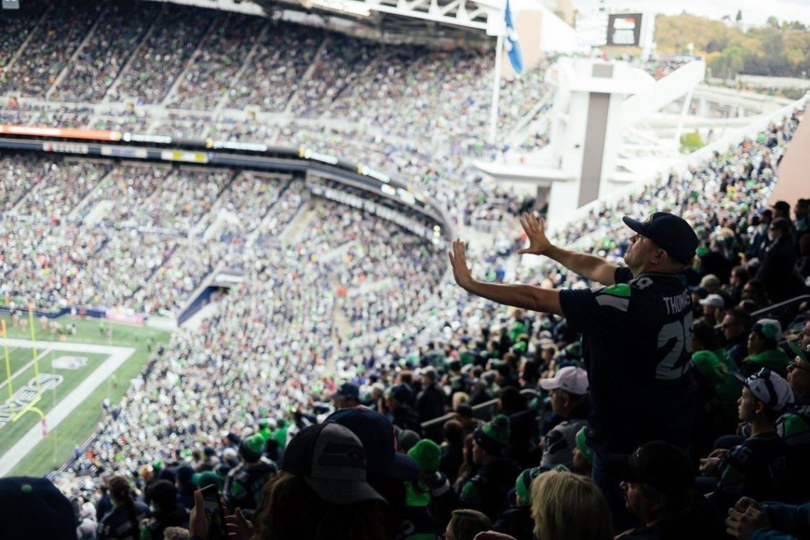NFL Seattle Seahawks Atlanta Falcons Penality Flag Falscheentscheidung Umstritten Streit Fans Westkurve Centurylink Field