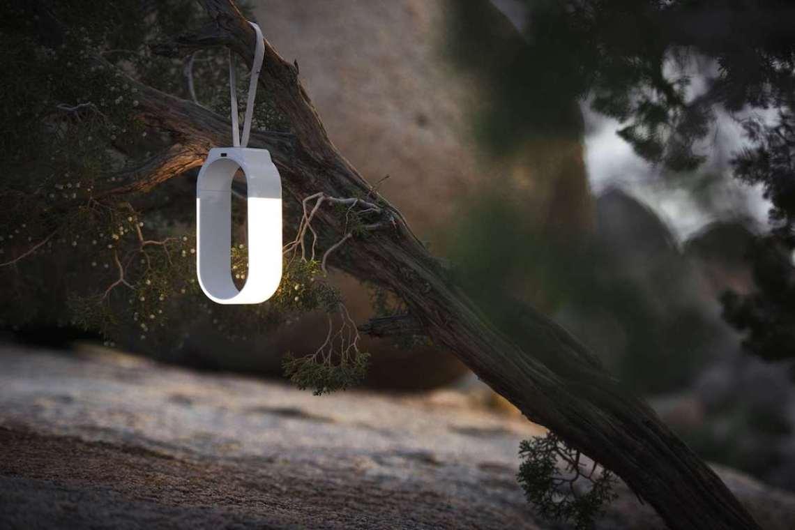Mr Go LED Laterne Schlaufe Outdoor Baum Natur Boden Hängeleuchte