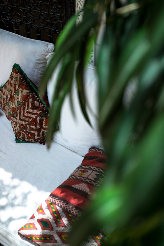marokkanische kissenbezüge sofa