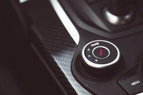 Alfa Romeo Giulia Quadrifoglio rot Fahrwerkseinstellung Dämpfer Race Mode