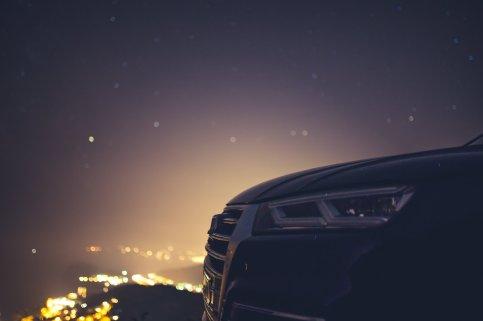 Audi Nachthimmel
