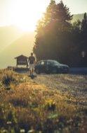 Adrian Sonnenuntergang Audi SQ5 italienische Grenze