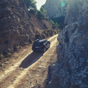 Bergpassage Audi SQ5 Flare