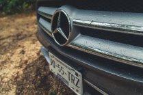 Mercedes-Benz GLA200 Stern Kühlergrill detail
