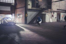 Frederic Schlosser Mercedes-AMG GTC Shooting