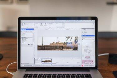 Macbook Pro Layout Foto