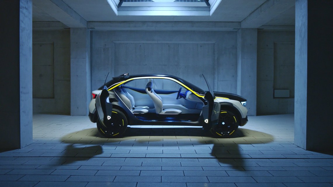 Innenraum Opel GT X
