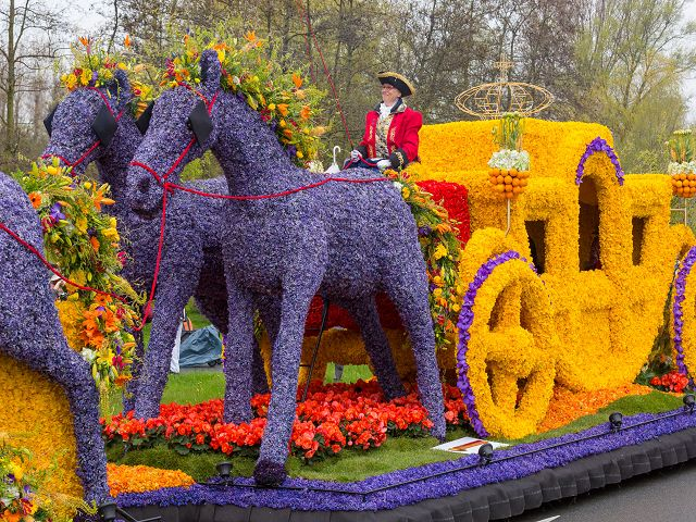 Flower Parade Springtime ein Holland