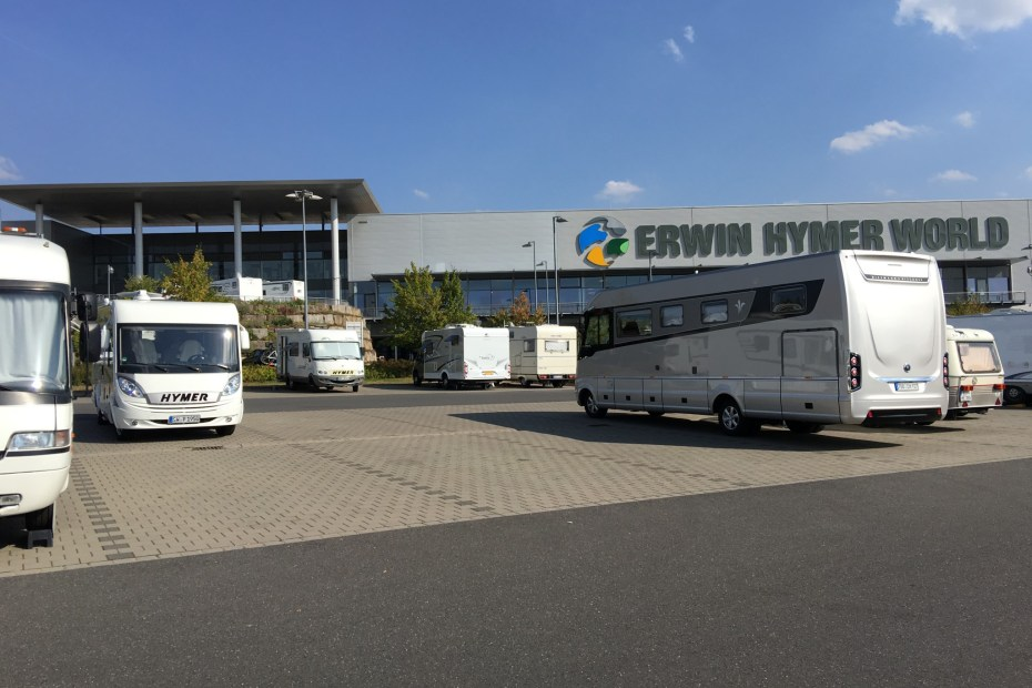"Motorhome Tour ""Germany's Romantic Road"", Wertheim Erwin Hymer World"