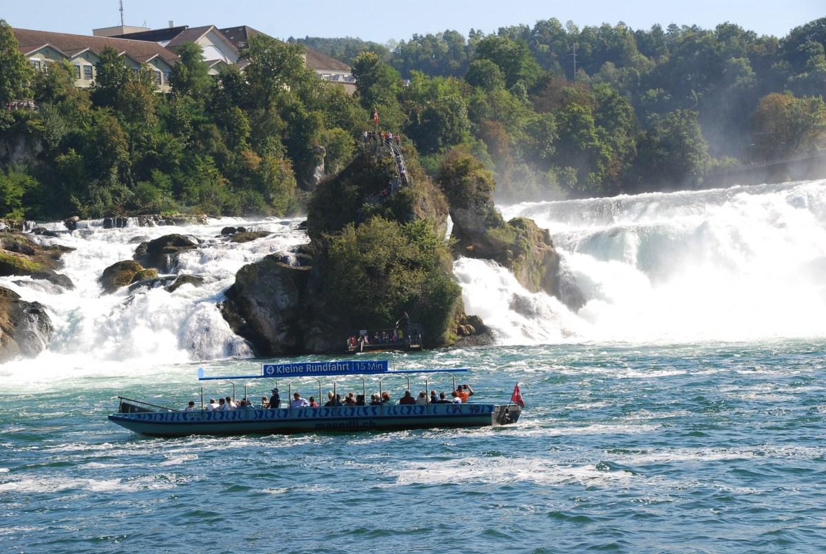 Visit to the Rhinefall in Schaffhausen, Switzerland