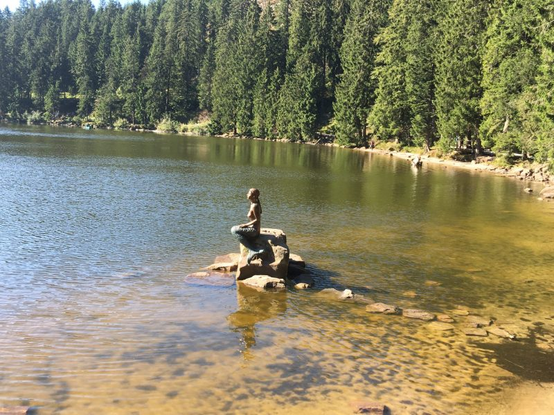 Mermaid at Mummelsee