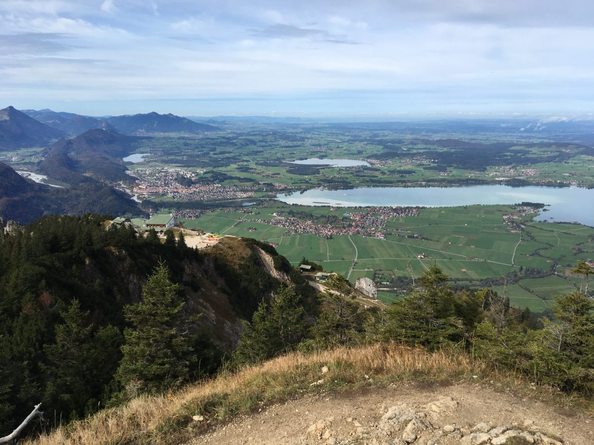 View from Tegelberg Schwangau