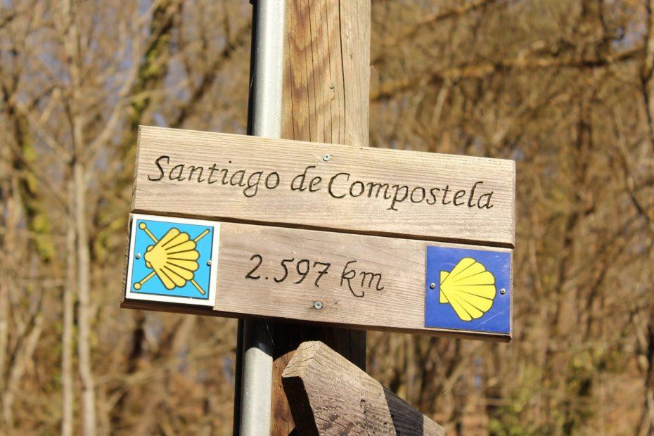 Tour Flyer Sign Santiago de Compostela