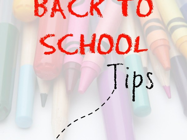 Five Tips to Prepare for Back to School