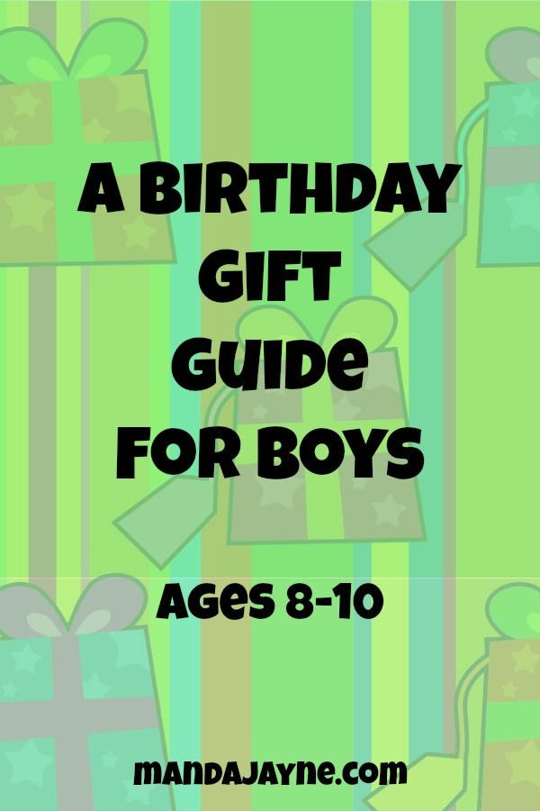 Boys Birthday Gift Guide