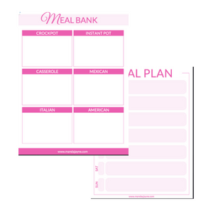 One Brilliant Meal Planning Hack