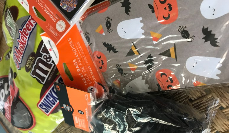 How to Make Easy Halloween Goodie Bags