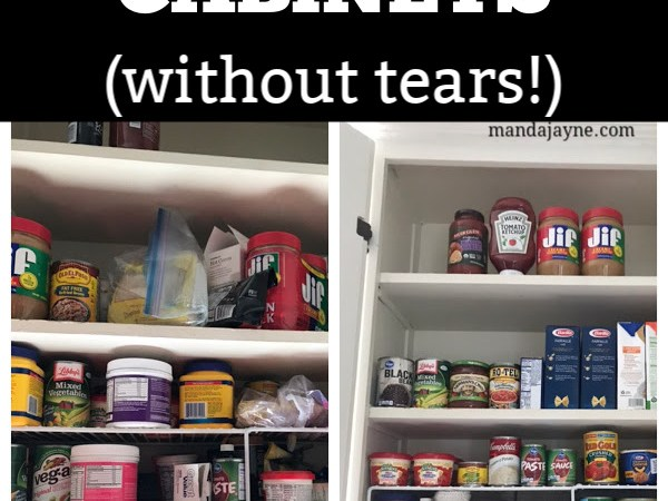 How to Tackle Organizing Your Kitchen Food Cabinets