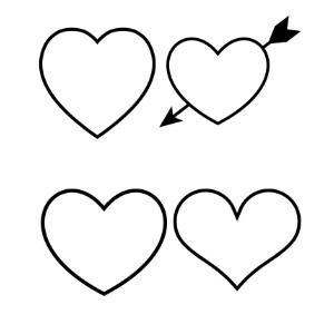 free heart templates you can print manda j