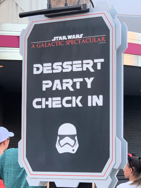 Star Wars Dessert Party Check In Sign