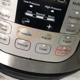 Instant Pot Button Panels