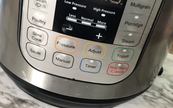 Instant Pot Button Panels