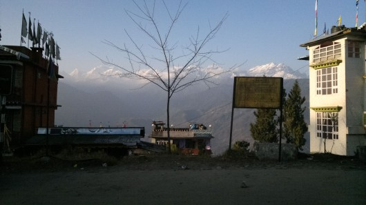 View of the Himalaya from Pelling, Sikkim, India