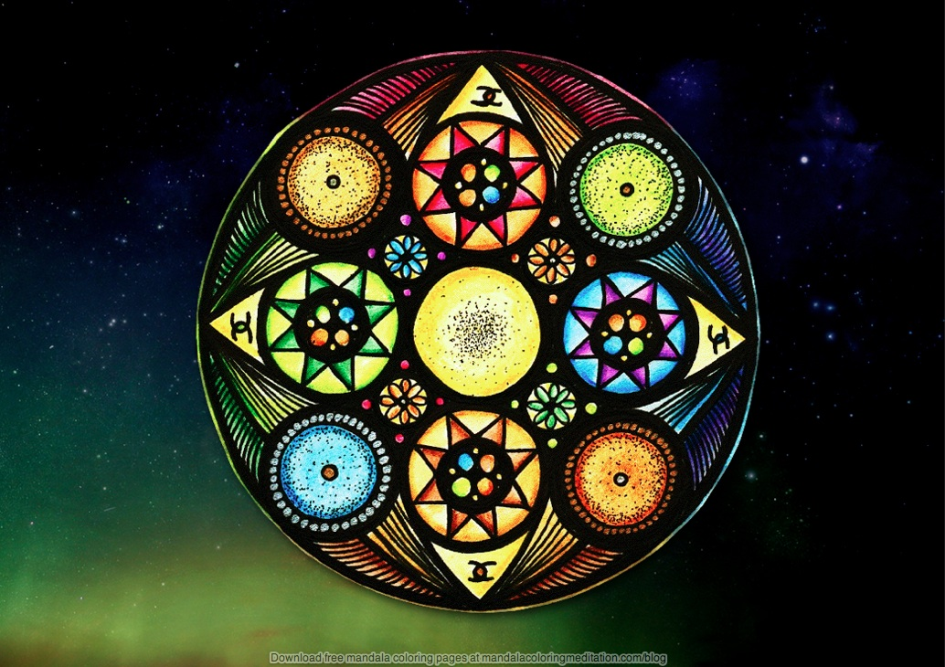 your introduction to the healing powers of mandala coloring pages