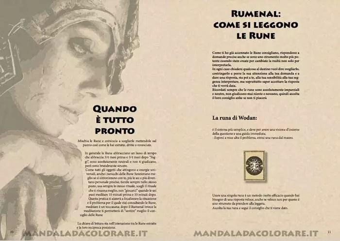 Rumenal come leggere le rune celtiche runa di Wodan ebook