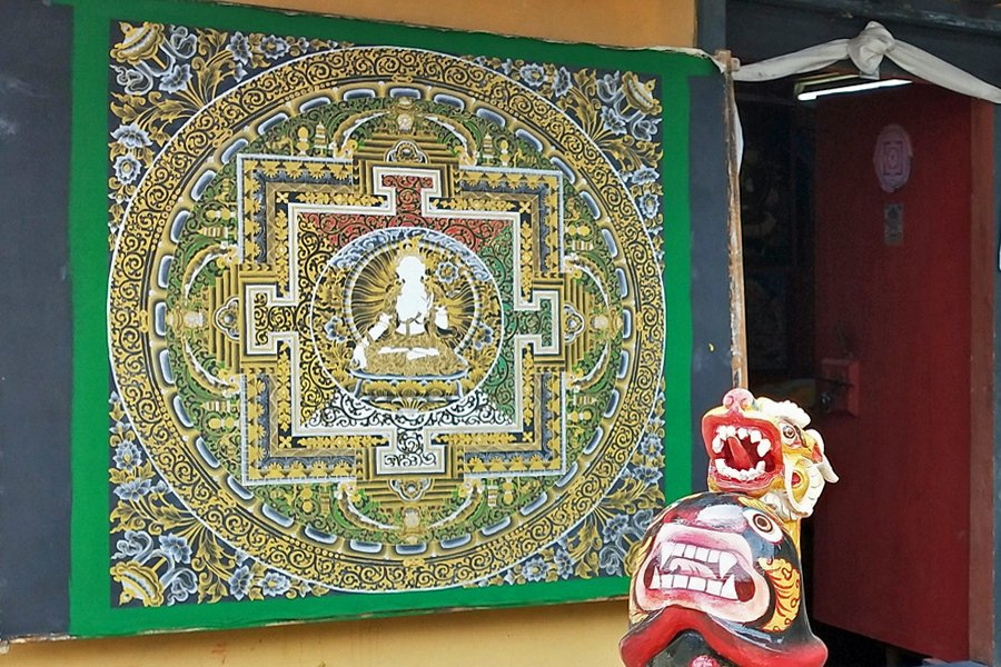 Bhutan arts and crafts - Mandala