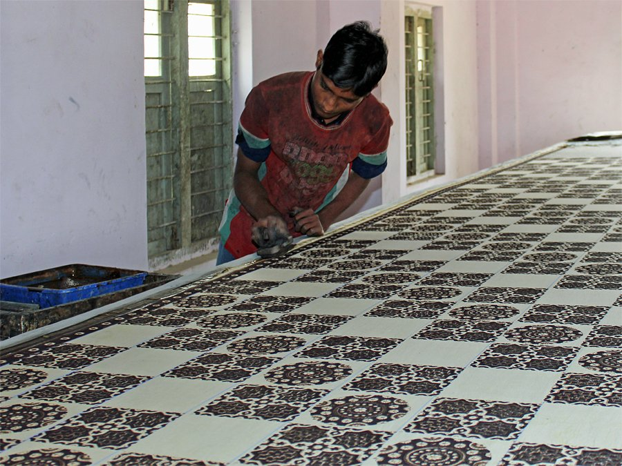 Block printing in India
