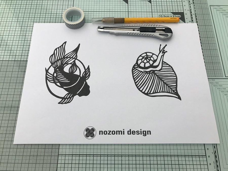 Things you'll need to make Kirie_Nozomi Design