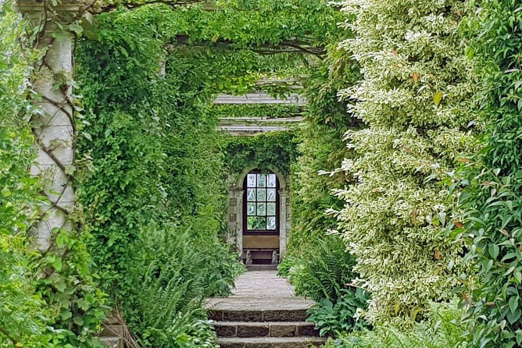 West Dean Gardens near Chichester, West Sussex, England