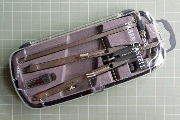 Faber-Castell compass set