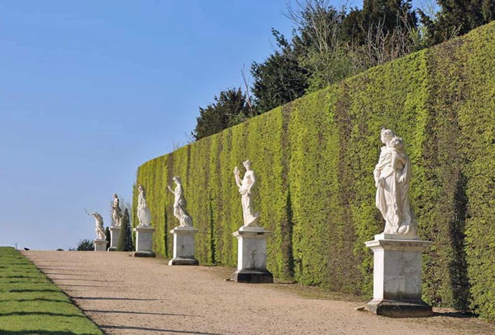 Sculptures in the Versailles Gardens, France