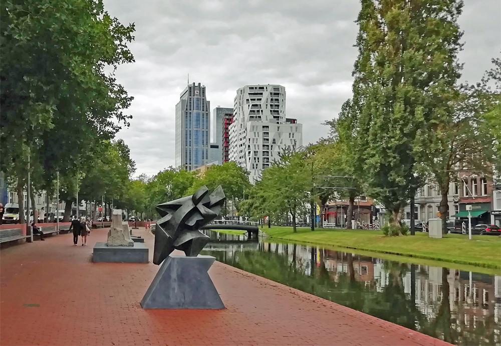 Westersingel Sculpture Route, Rotterdam, Holland