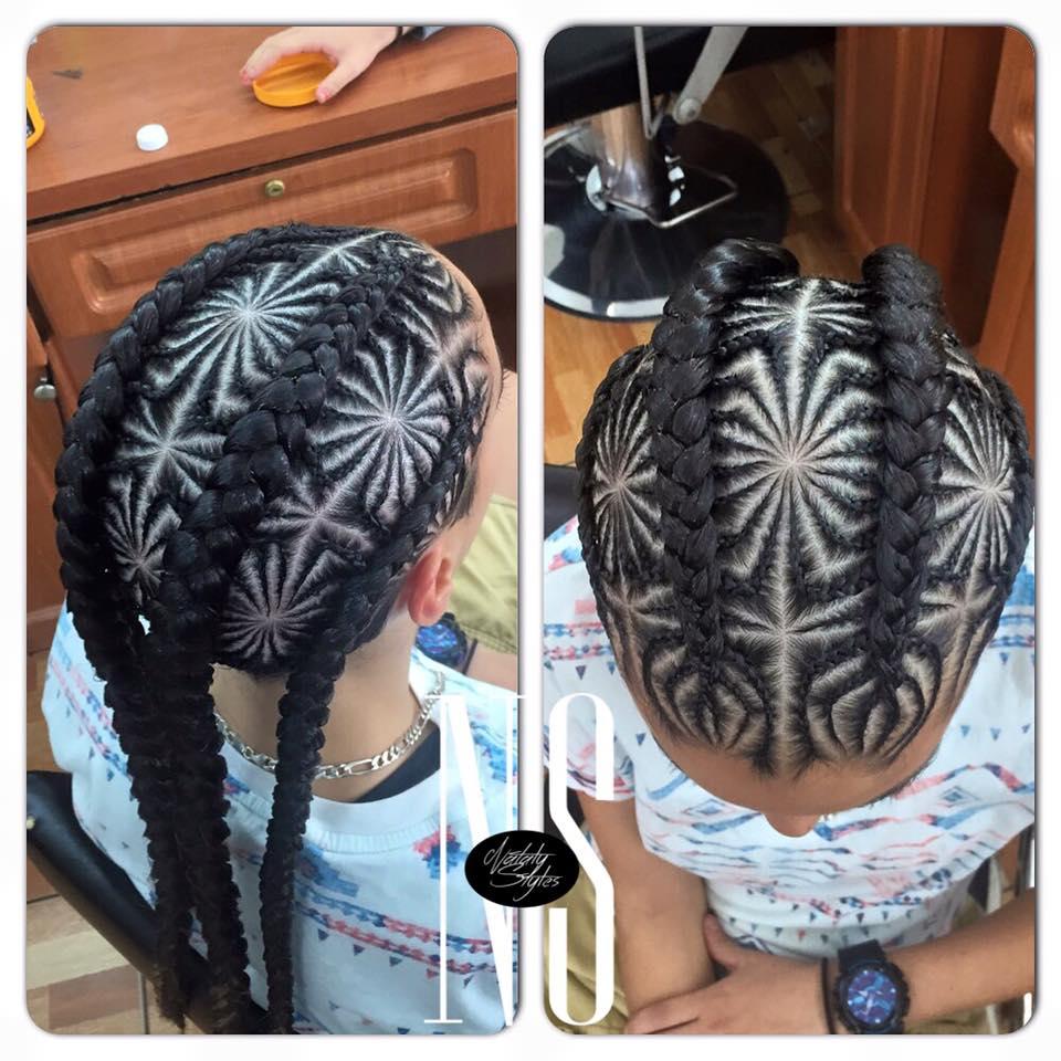 286 Hair Braid Mandala Mandala Of The Day
