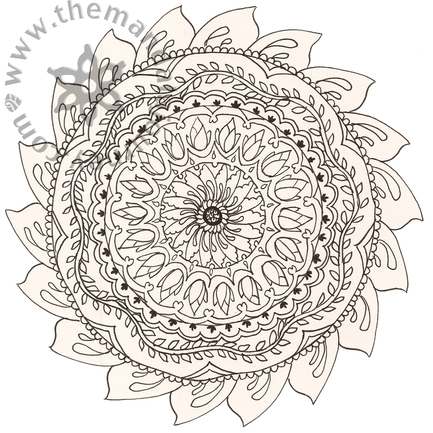 here are some line mandalas that i worked up i d eventually like to
