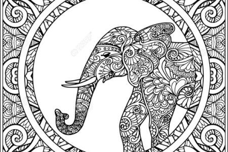 best Mandalas De Elefantes Para Pintar image collection