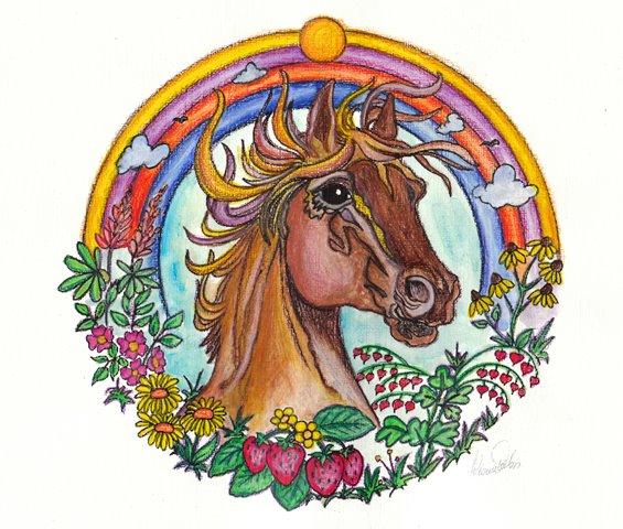 The Horse El Caballo Mandalas For You