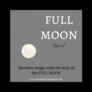 FULL MOON RITUAL || Mandala Soul Designs